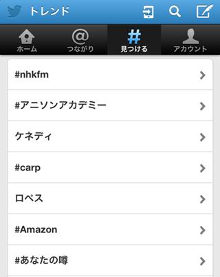 Twitterトレンド(日本)