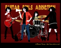 Guitar Girls Addiction